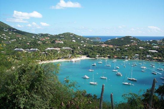 The Westin St. John Resort: Cruz Bay and the Westin's private beach