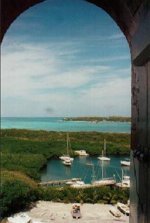Great Abaco Island: Blick vom Leuchtturm Elbow Cay Bahamas