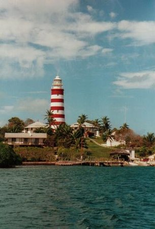 Great Abaco: Hope Town Leuchtturm Bahamas
