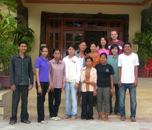 Lotus Lodge: staff