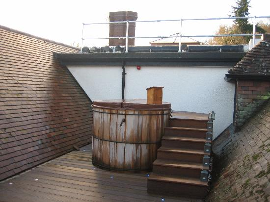 Gidleigh Park : Hot Tub on the terrace