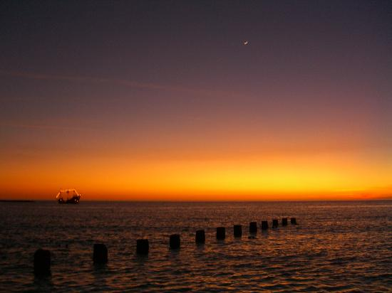 Sunset from Clearwater Beach 10/Jan/08
