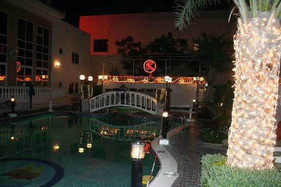 Regent Beach Resort In The Night