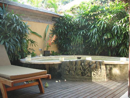 Jamahal Private Resort & SPA: Terrasse avec jaccuzi