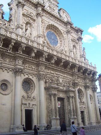 Lecce, Italien: Basilica di Santa Croce