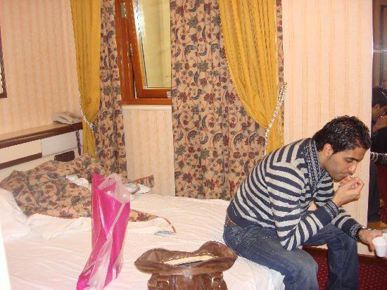 tiny room picture of hotel berna milan tripadvisor rh tripadvisor com