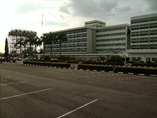 Ilorin, Nigeria: Front View from Secure carpark