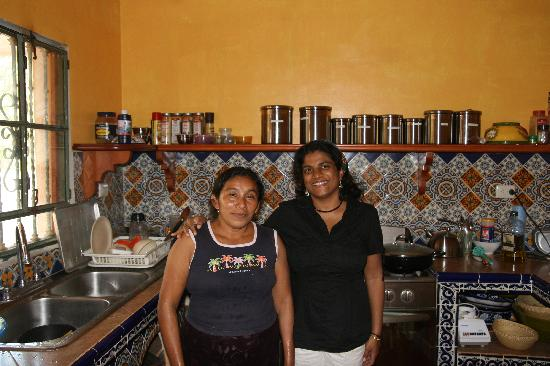 Casa Hamaca Guesthouse: Sophie, our Mayan cook at the Casa Hamaca
