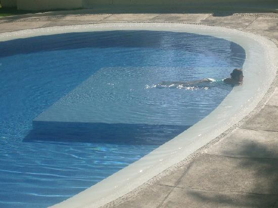 Emporio Mazatlan: hanging out in the pool...Piña coladas from the bar, were the best!