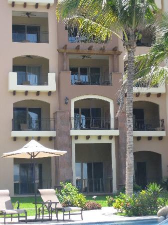 Villa La Estancia : Outside of our room on the 4th floor