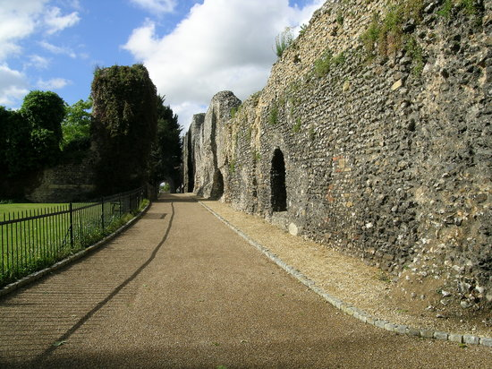 Ρέντινγκ, UK: Reading abbey ruins