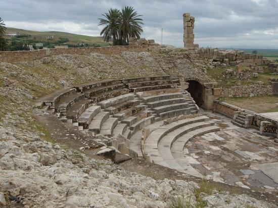 جندوبة, تونس: bulla regia, tunisia
