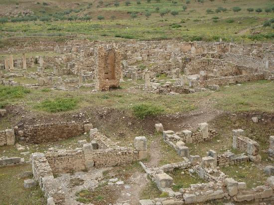 Jendouba, Tunisia: bulla regia, tunisia