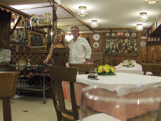 Albergo Ristorante Al Giardinetto : A la hora de la cena
