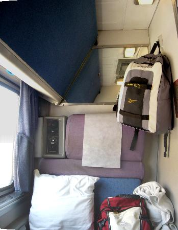 Seat In A Roomette Picture Of California Zephyr