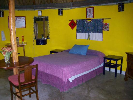 Casita Carolina: round palapa