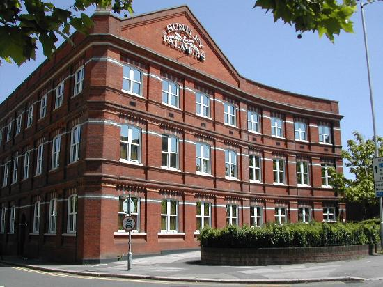 Reading, UK: Huntley & Palmers biscuit factory building - once the largest biscuit factory in the world