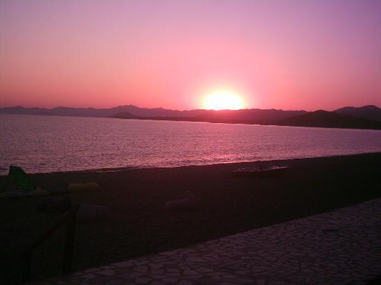 Calis Beach: Sunset in Calis