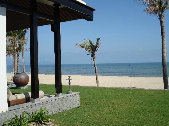 The Nam Hai Hoi An: View of Outdoor Living Area - Beachfront
