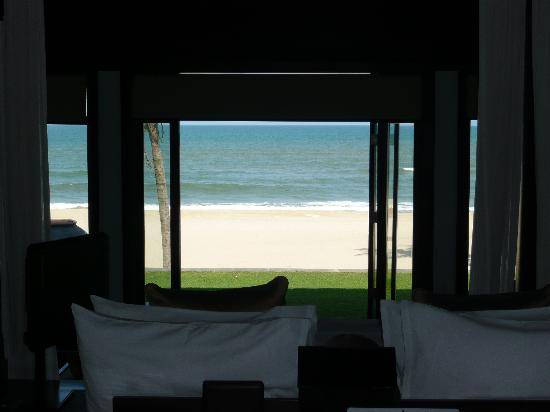 The Nam Hai Hoi An: View from Behind the Bed