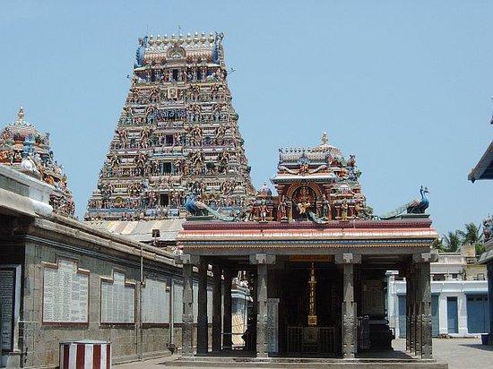 Chennai (Madras), India: Tempelanlage Chennai, Indien
