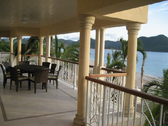 The Landings St. Lucia: Our balcony
