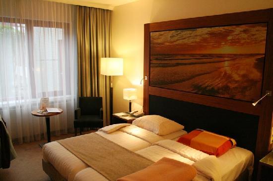 Stenden Hotel: Hotel room in Hotel Wyswert