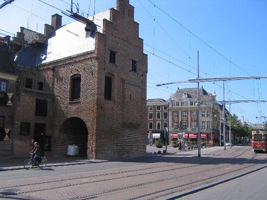 The Hague Prison gate