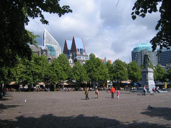 The Hague, The Netherlands: Het Plein, the Square