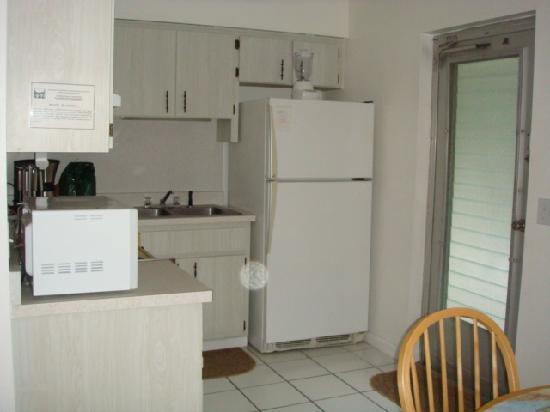 An Island Getaway at Palm Tree Villas: villa 23 kitchen