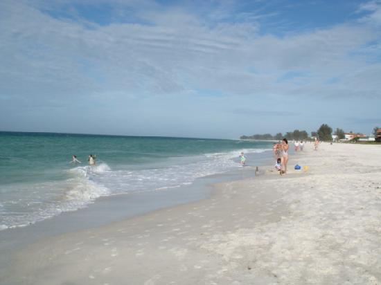 An Island Getaway at Palm Tree Villas: beautiful beach near PTV