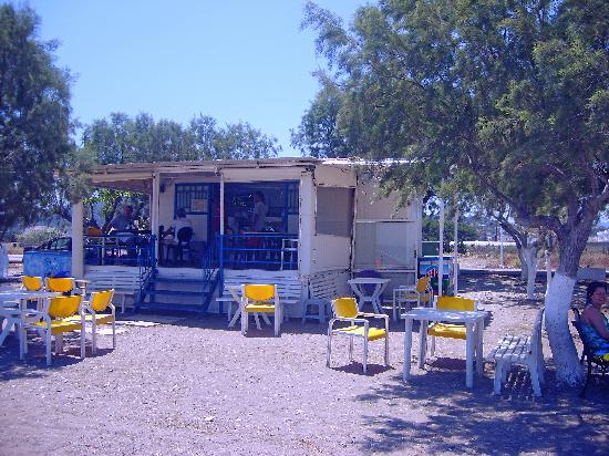 Pylea Beach Hotel: Good beach restuarant