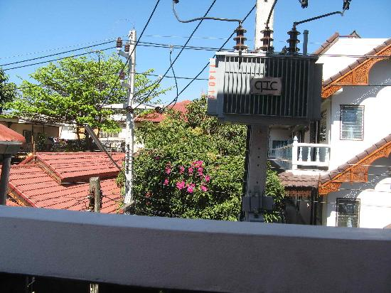 Bow Chiangmai House: View from balcony