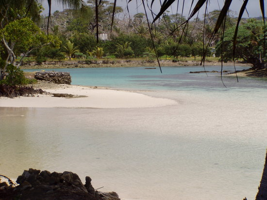 Port-Vila, Vanuatu : the beautiful blue lagoon