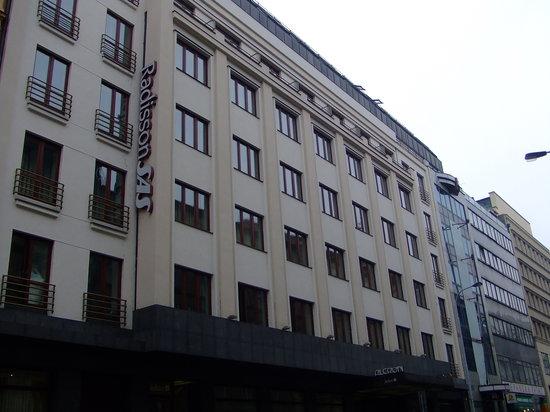 Radisson Blu Alcron Hotel, Prague: EXTERIOR