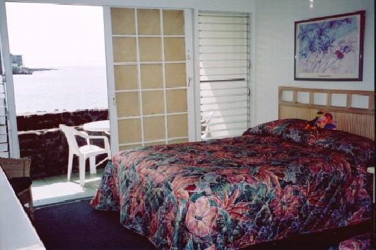 Kona Tiki Hotel: Our 1st floor room, Kona Tiki