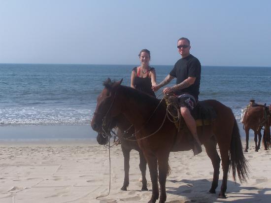 Villa La Estancia : on the beach in front of the resort