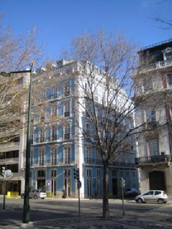 Heritage Avenida Liberdade: Facade of the hotel