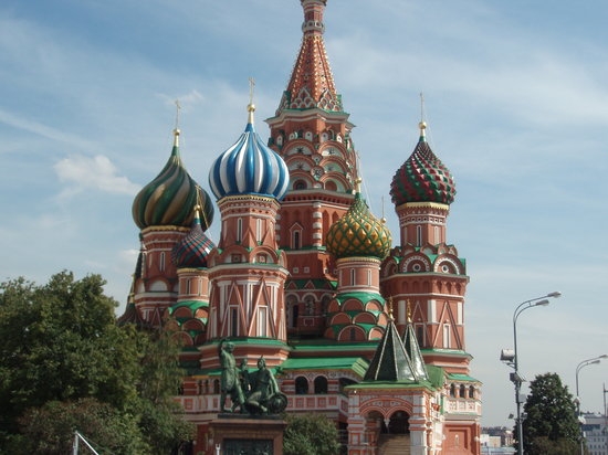 Moscow, Russia: st. basil