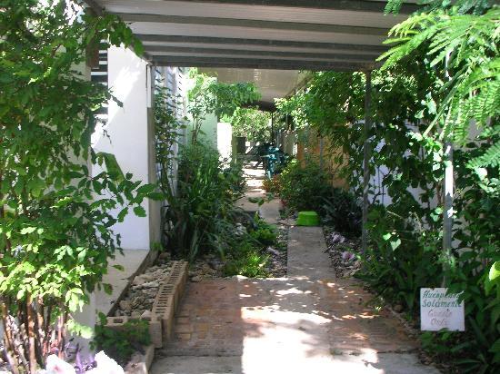 Posada Vistamar: walk way