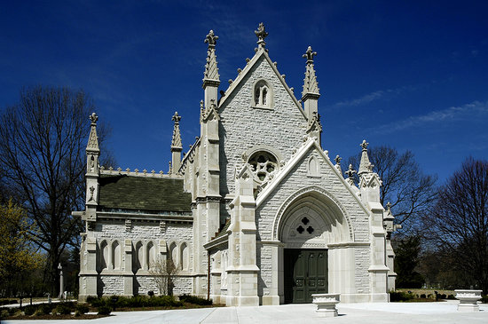Indianapolis, IN: Gothic Chapel, built in 1875 & restored in 2006. Used for funerals, concerts, weddings, spec. ev