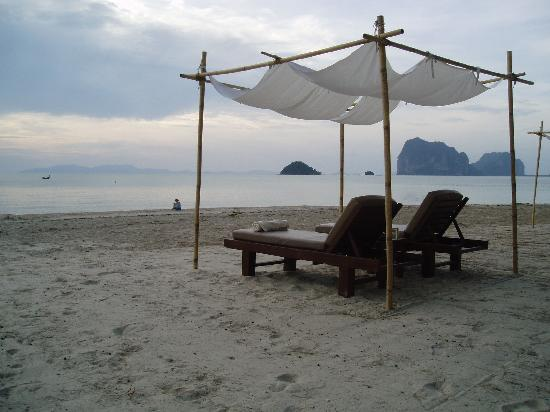 Anantara Si Kao Resort : Beach