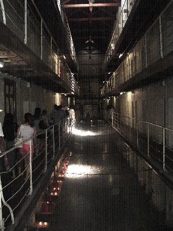 Inside the Fremantle Prison