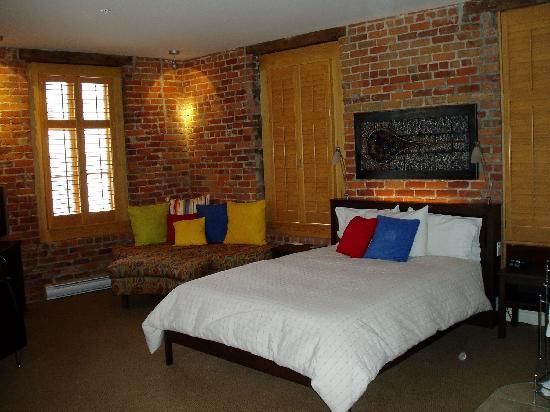 Hotel Le Vincent: une chambre