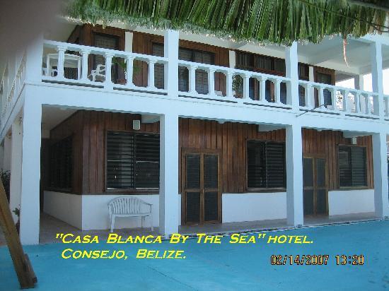 Casa Blanca by the Sea Hotel : Casablanca By The Sea Hotel, Belize.