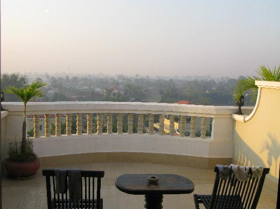 Borei Angkor Resort & Spa: view from our room