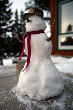Fairmont Jasper Park Lodge: My Snowman