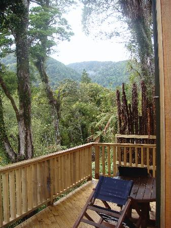 Rough and Tumble Bush Lodge: view from lodge
