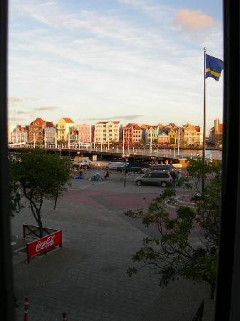 E M City Hotel: View from window