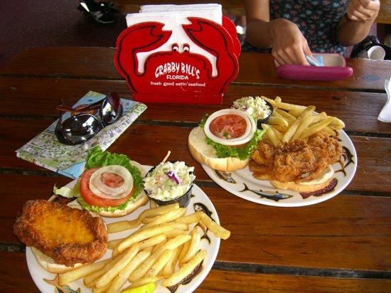 Crabby Bill's Clearwater Beach: Crabby Bill's - sandwiches